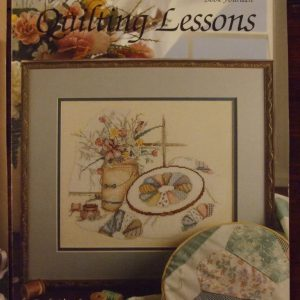 Quilting Lessons Cross Stitch Patterns #605 Paula Vaughan