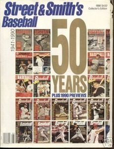 STREET & SMITHS BASEBALL COLLECTOR EDITION 1990 50 YRS