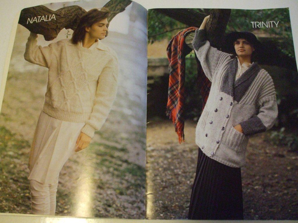 Samband of Iceland book 1 knitting patterns Christian de Falbe ...