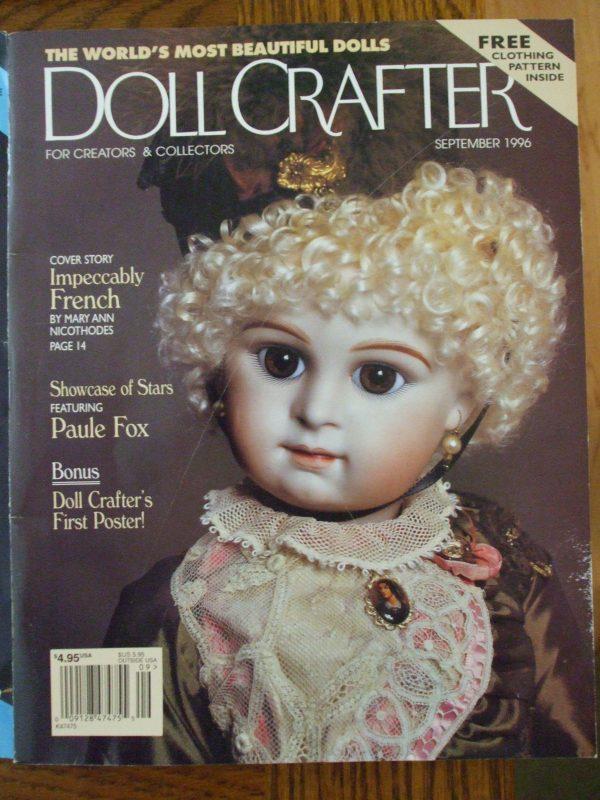 September 1996 doll crafter