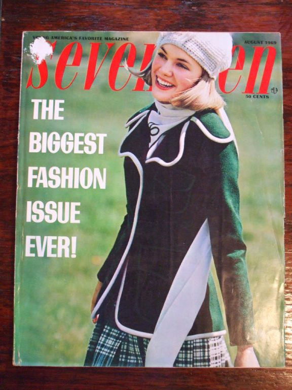 Seventeen magazine August 1969 Biggest issue ever