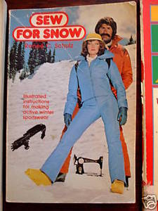 Sew for Snow Sewing pattern book Retro Active Winter Sportswear