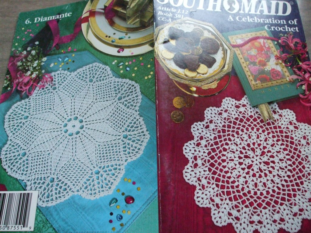 South Maid Book 381 A Celebration Of Crochet Patterns Doilies