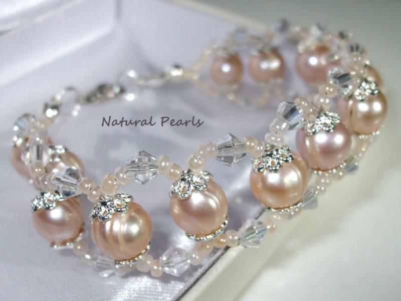 bc025-24-natural-pearls-silver-caps-seed-crystals