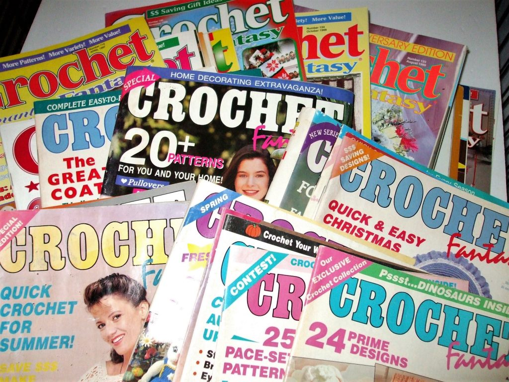 Crochet Fantasy Magazine Vintage Back Issues 1990 2000 Prices
