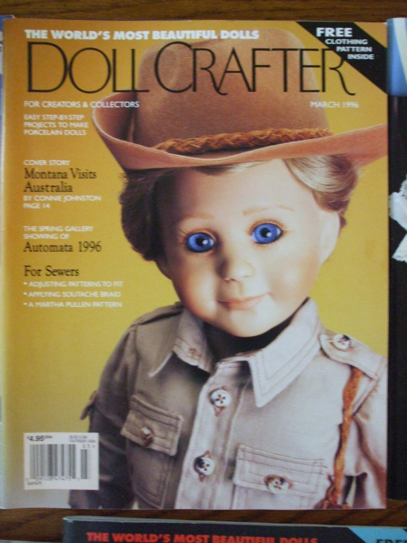 march 1996 doll crafter