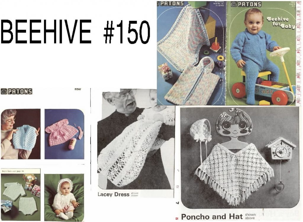 Children baby babies knitting crochet clothing patterns patons ...