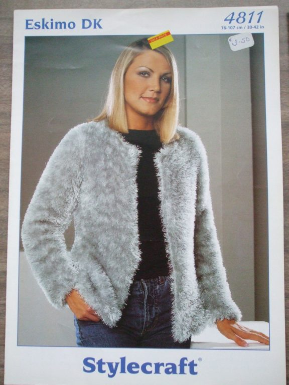 Eskimo DK Stylecraft Knitting patterns women sweaters jacket ...