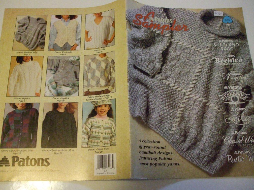 Dorable Paton Yarn Knitting Patterns Festooning - Blanket Knitting ...