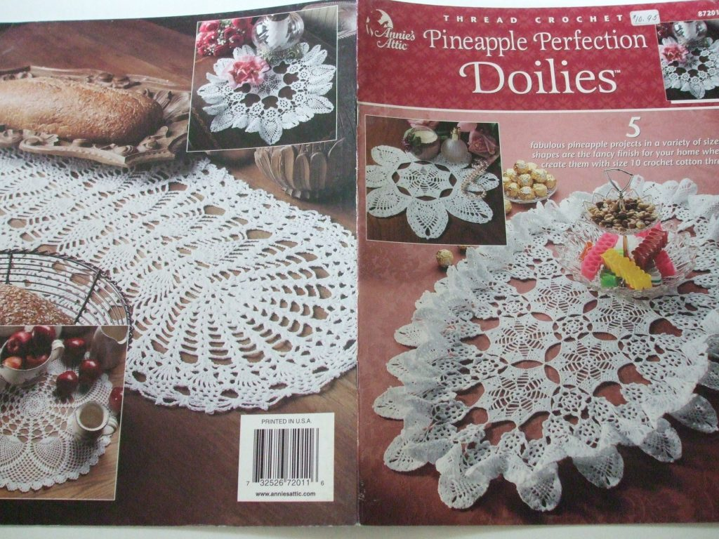 Doilies Thread Crochet patterns American School Annie\'s Attic House ...