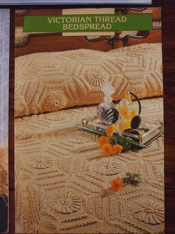 Crochet Thread Bedspread Pattern