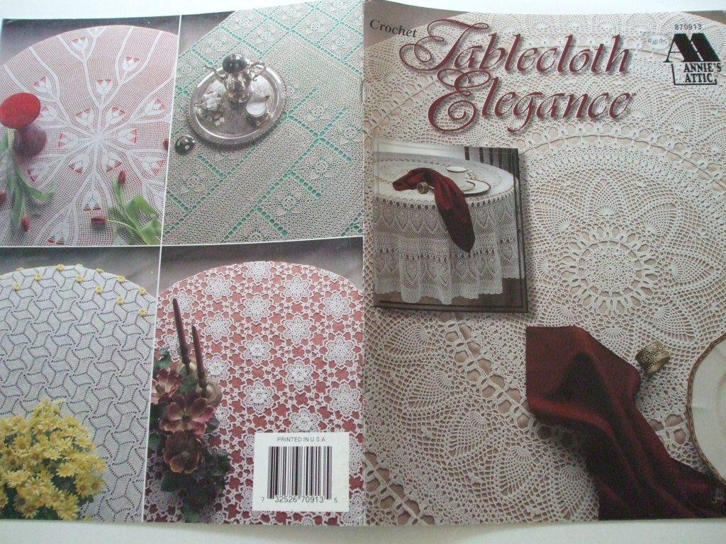 Tablecloths Crochet Patterns Annies Attic 870913 House White