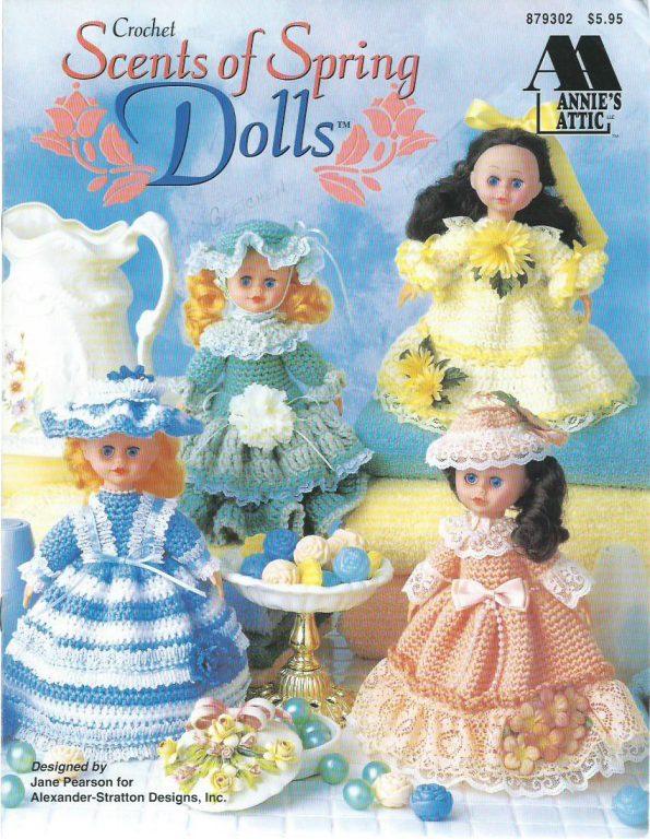 Sweet Scents Air Fresh Crochet Doll Dresses Patterns 02010596