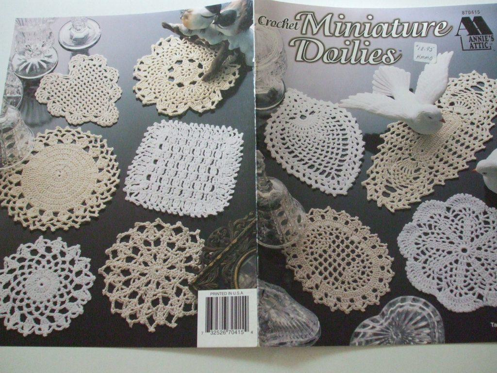 Delicate Miniature Doilies 7 10 Designs Crochet Patterns Annies