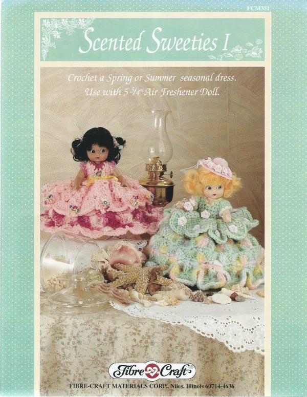 Crochet Doll Dress Pattern Seasonal Themes 575 Dolls Dresses Fibre