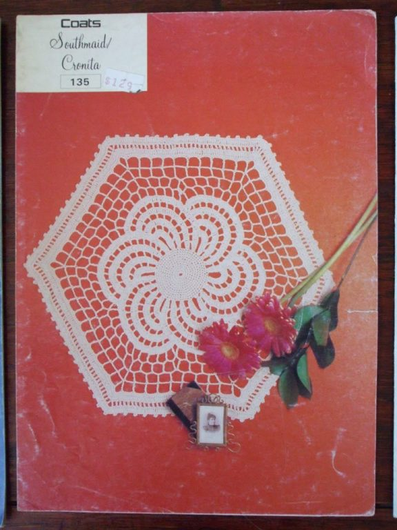 Coats Southmaid Cronita Crochet Doily Patterns 135 136 137 Prices