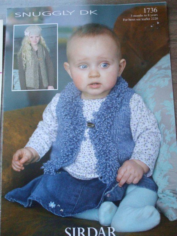 Bolero Waistcoat sweater Knitting patterns kids babies ...