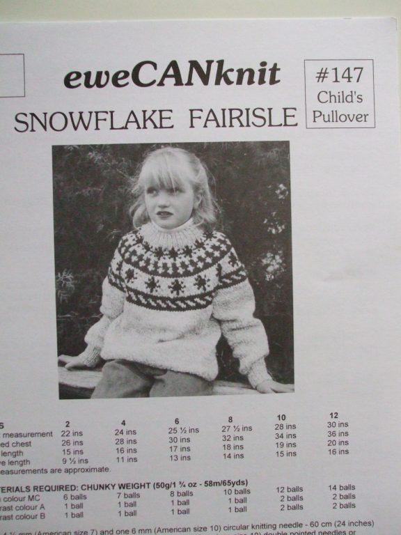 Fairisle Sweetheart pullover boot socks stocking hat cardigan EweCANknit  knitting patterns