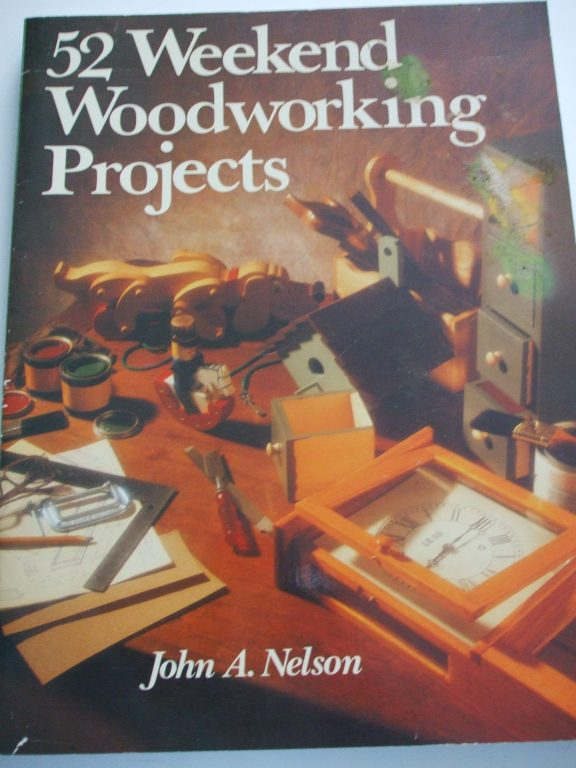 52 weekend woodworking projects patterns book