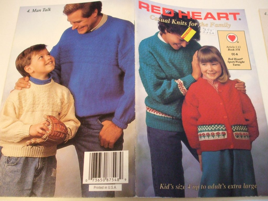 676da07b81cd Red Heart knitting patterns Sweaters pullovers cardigans raglan ...