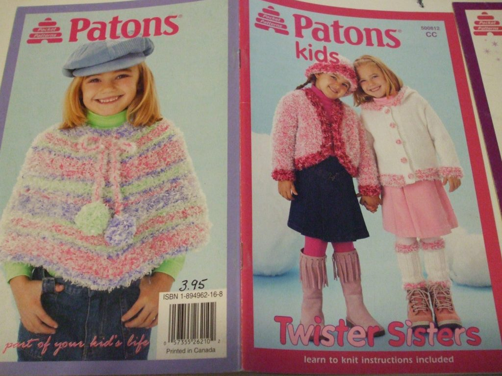 Patons kids knitting patterns Skirts shrug poncho purse ...