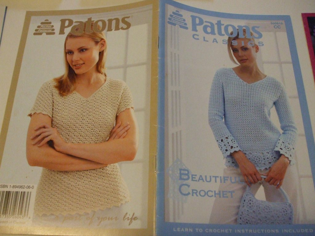Patons Grace 500810 Classics Crochet patterns women tops purse ...