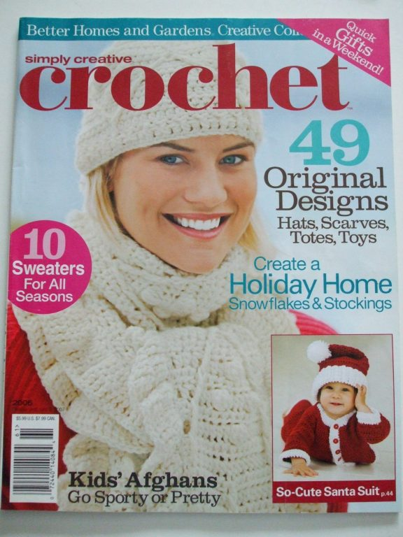 Simply Crochet magazine 49 patterns Better Homes & Gardens ...