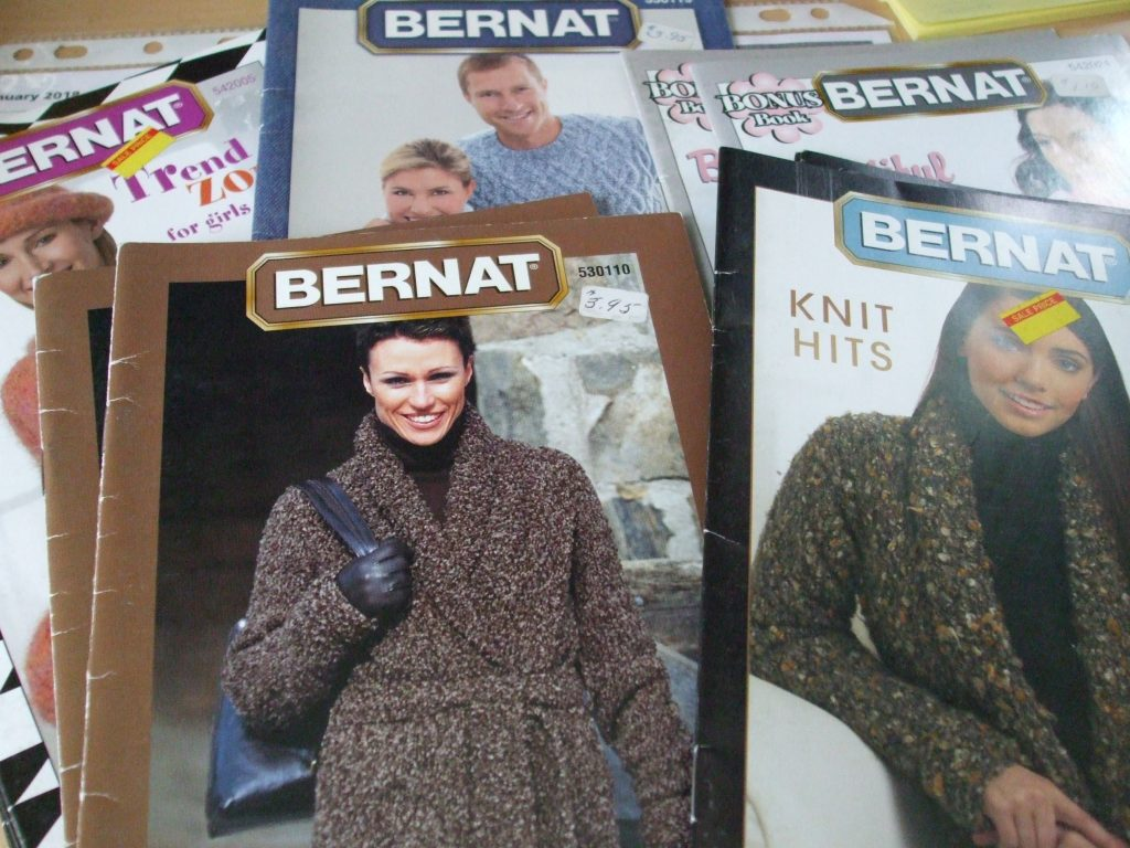 Bernat Knit crochet patterns sweaters coats cardigans hoodie blanket ...