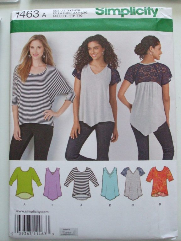 Women Tops Shirts Blouses Sewing Patterns Simplicity Newlook
