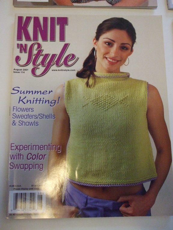 Knit n Style magazine back issues Knitting patterns 2001-2012 ...
