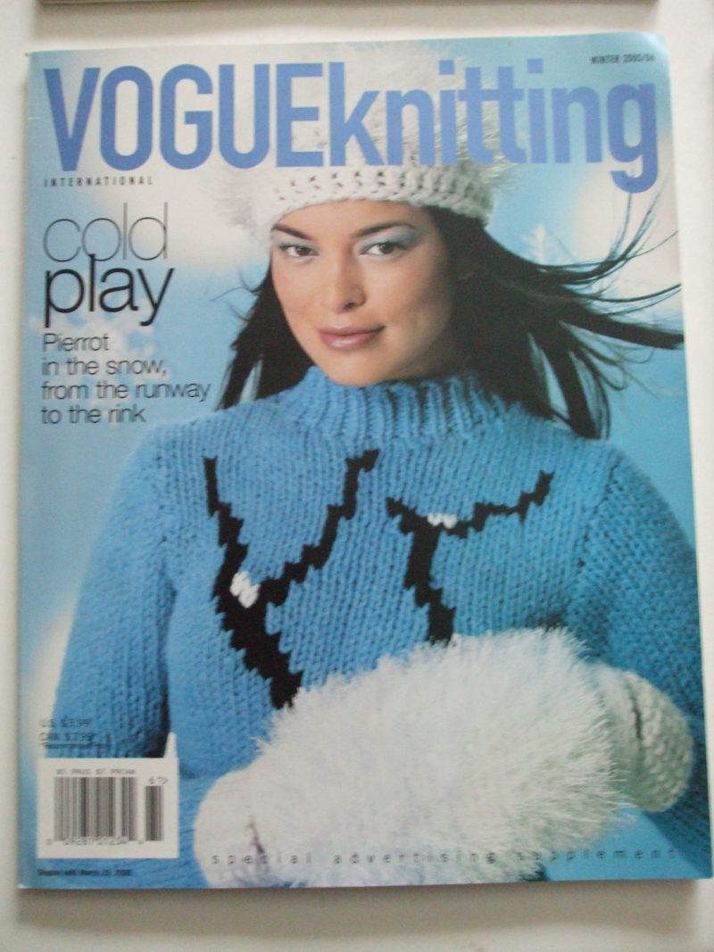 Vogue Knitting International magazine patterns 2000s