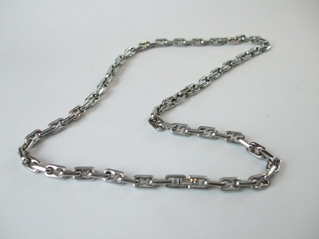 cuban link chain big necklace miami stainless mens heavy steel