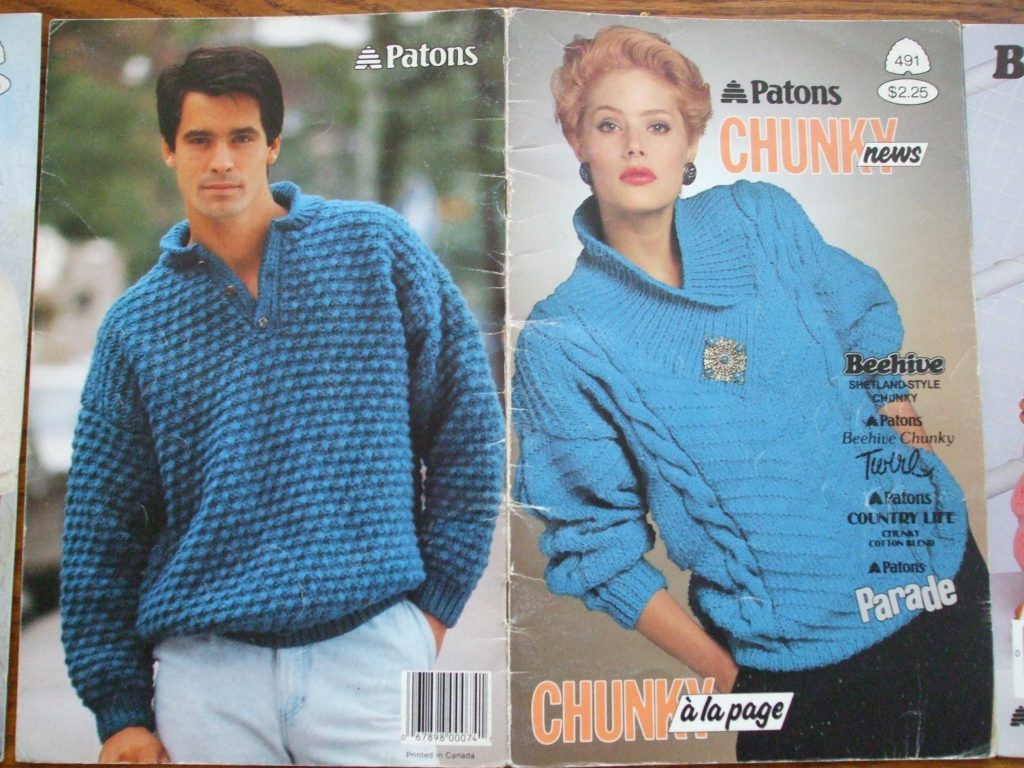 Patons Beehive Double knitting patterns Women lacy sweaters ...
