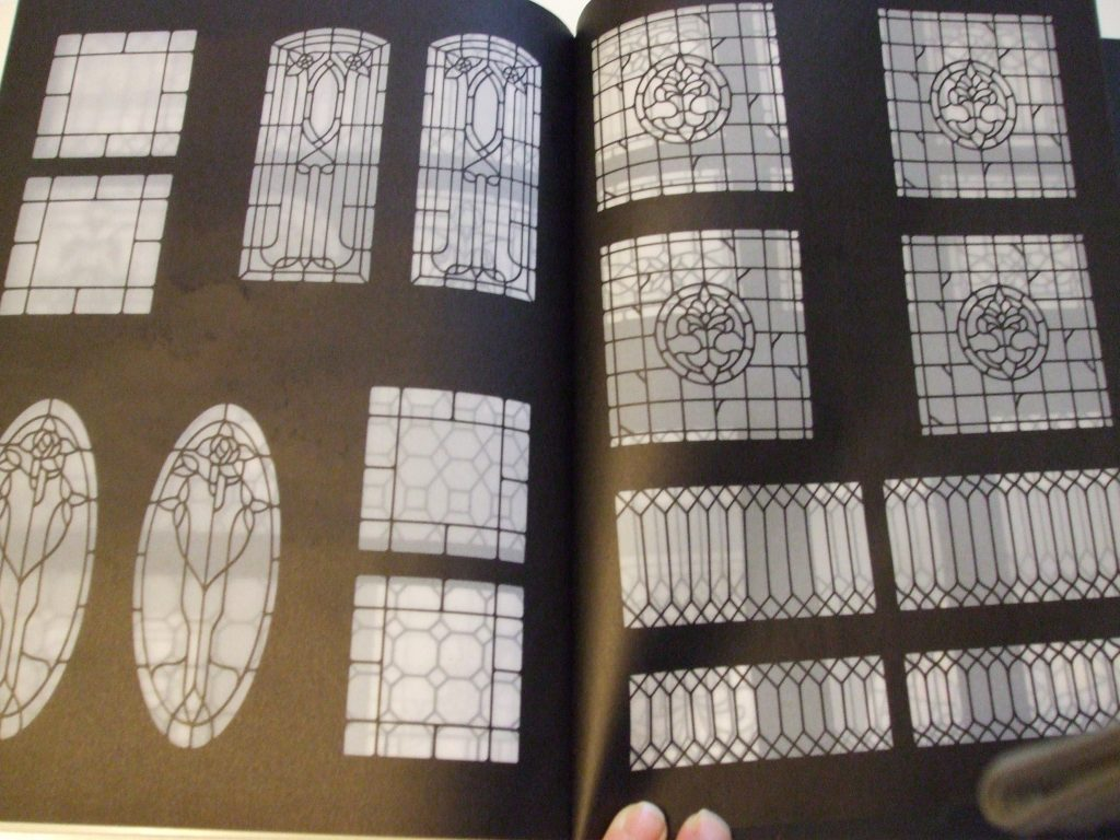 Ready To Use Dollhouse Miniature Stained Glass Windows For Hand