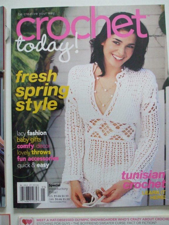 Crochet Today Back Issue Magazine Crochet Patterns Fashion