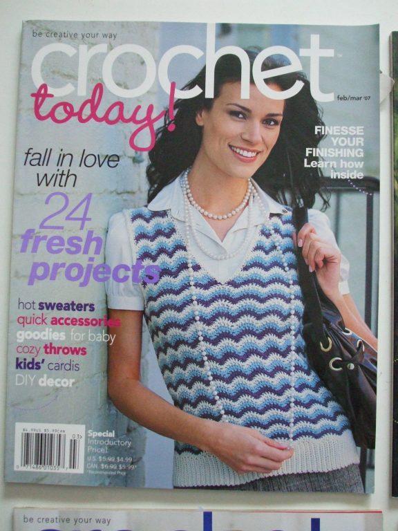 Crochet today back issue magazine crochet patterns fashion decor ...