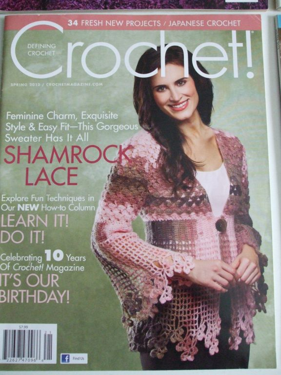 Defining Crochet Magazine Back Issues Patterns Fashion Decor Gift