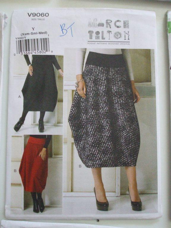 Pattern straight skirt: building 77