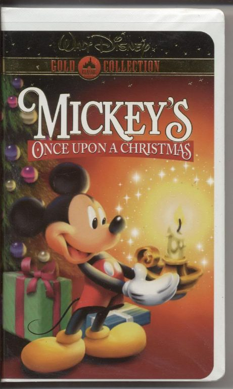 mickeys once upon a christmas walt disney vhs home video clamshell 7500 - Mickeys Once Upon A Christmas Vhs