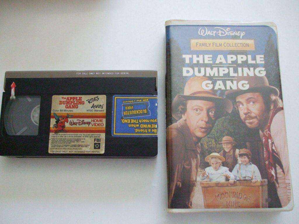 Apple Dumpling Gang Rides Again Walt Disney Vhs Video Family Film
