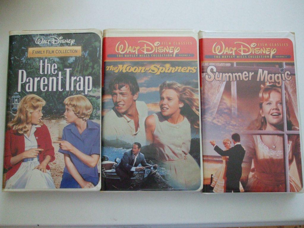 Parent Trap Moon Spinners Summer Magic Hayley Mills Walt Disney Vhs