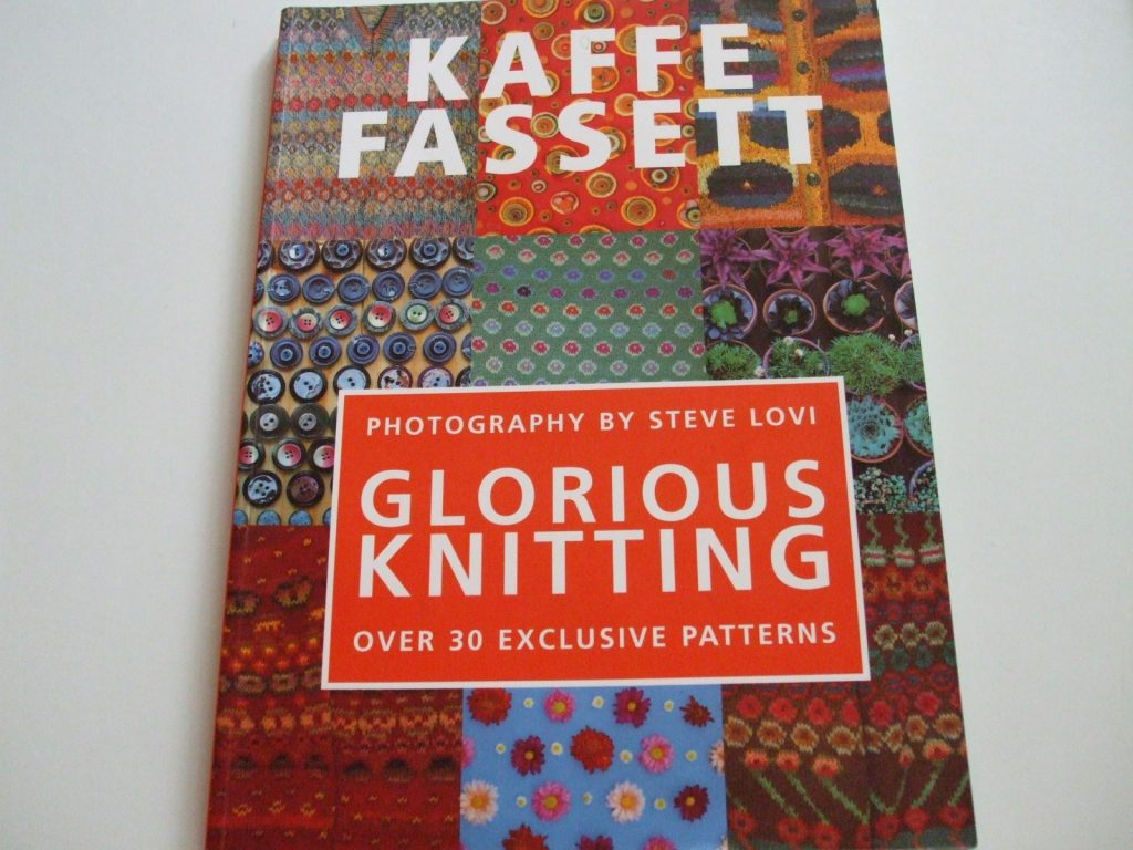 Glorious knitting 30 exclusive knitting patterns book Kaffe Fassett