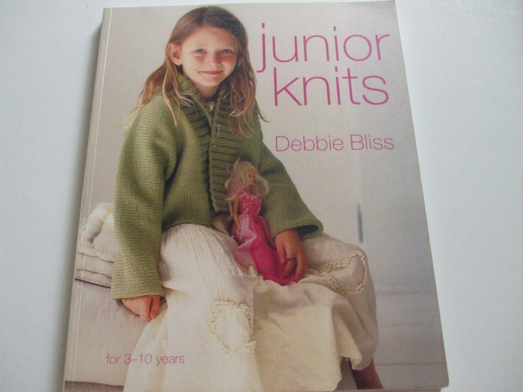Junior Knits Debbie Bliss knitting pattern book for 3-10 years ...